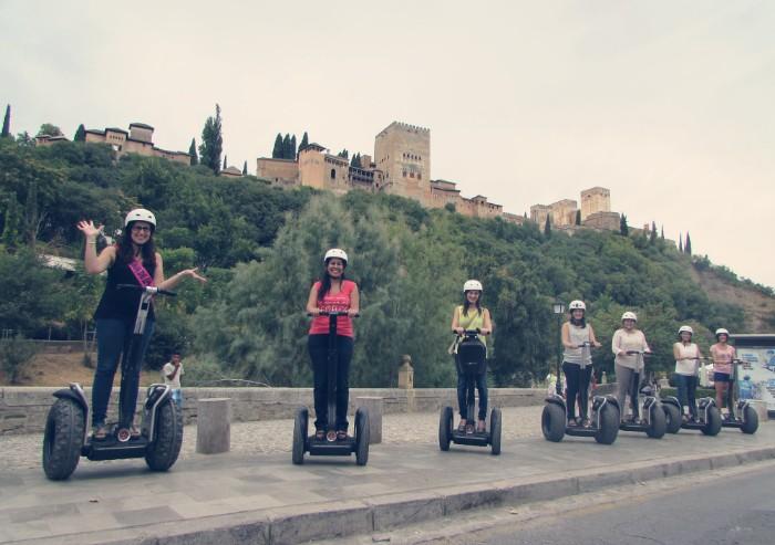 Segway en Granada