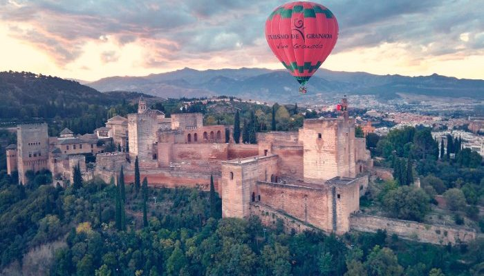 Vuelo en globo sobre Granada