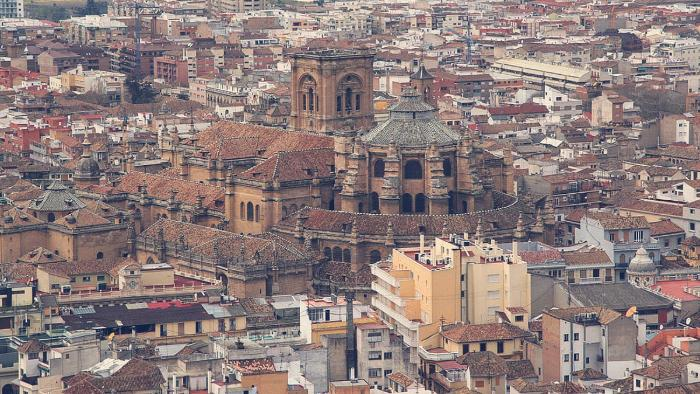 catedral y centro historico de granada