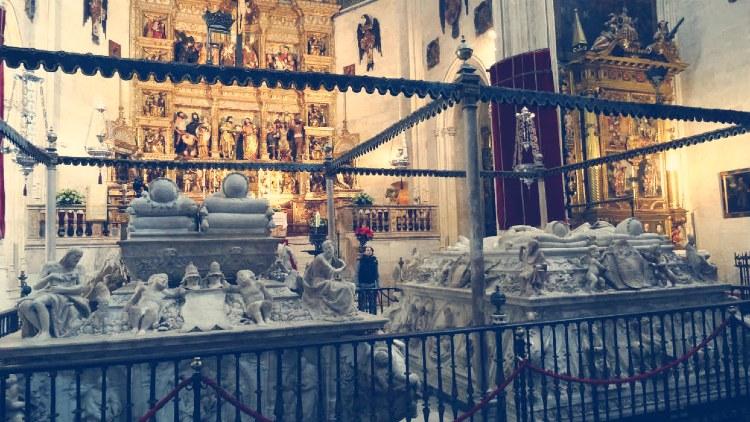 Interior de la Capilla Real